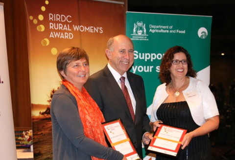 Runner up RIRDC Rural Women's Award 2014