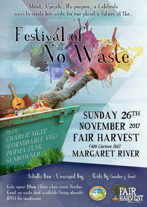 Festival of No Waste November 26th 2017
